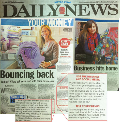 Katie Hellmuth Martin and Tin Shingle Featured in New York Daily News