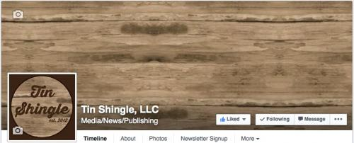 Cover Photo at a Facebook Business Page