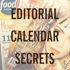 Editorial Calendar Secrets