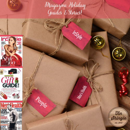 Magazine Holiday Gift Guides for Pitching the Press