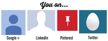 Are you an egghead on your social media websites?