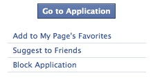 Block Application on Facebook for Instant Personalization