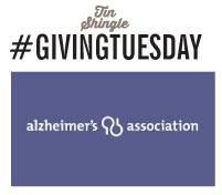 #GivingTuesday: Tin Shingle Gives to Alzheimer's Association