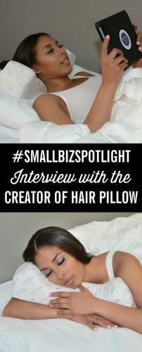 SmallBizSpotlight Interview with Creator of the Hair Pillow Dr. Dawn Jones-Sylla
