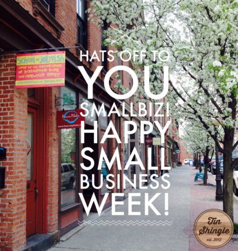 Hats Off To YOU Small Business Owners! Happy Small Business Week. Photo Taking on Main Street, Beacon NY.