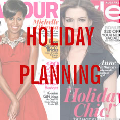 Strategies for planning for holiday gift guides in the summer