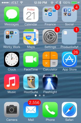 iPhone screenshot for Instragram regrams and regramming