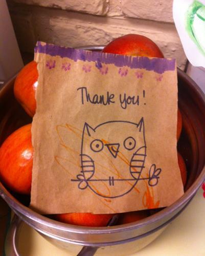 Kate Endle Thank You Owl