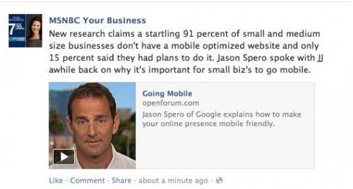MSNBC interviews Jason Spero of Google on Mobile Websites