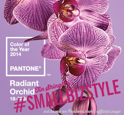 Pantone's Color of the Year 2014 Radiant Orchid