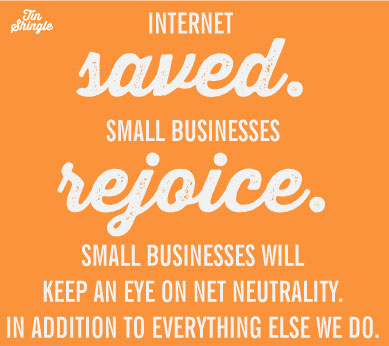 Thanks to 4 Million, the Internet Is Saved. Small Businesses Rejoice. But We'll Keep an Eye On It.