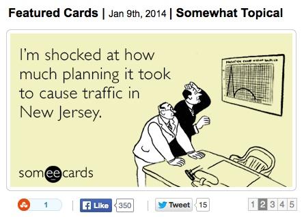 someecards.com Traffic NY Card