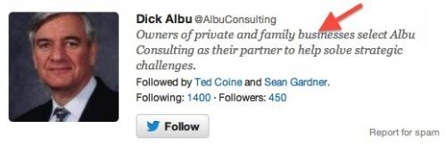 Twitter Now Following
