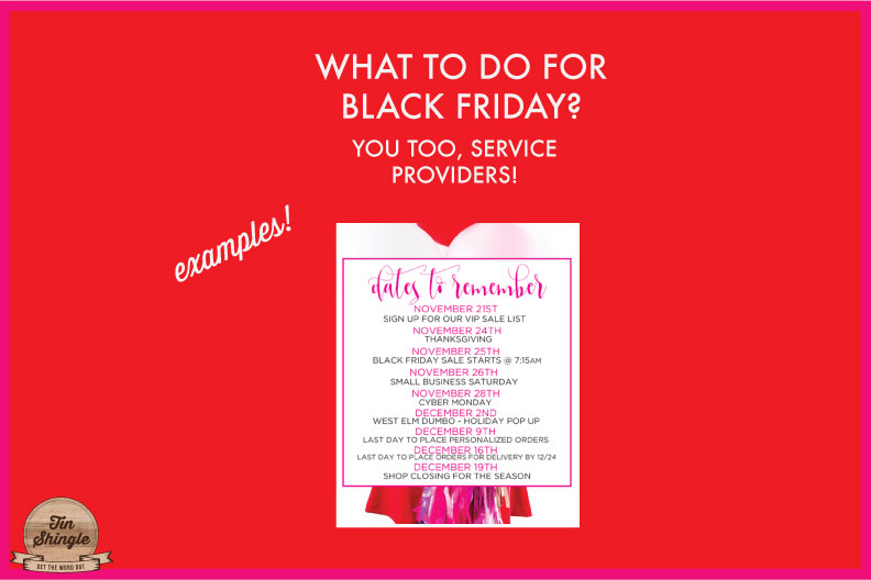 What To Do For Black Friday