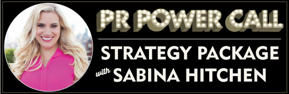 PR Power Call with Sabina Hitchen