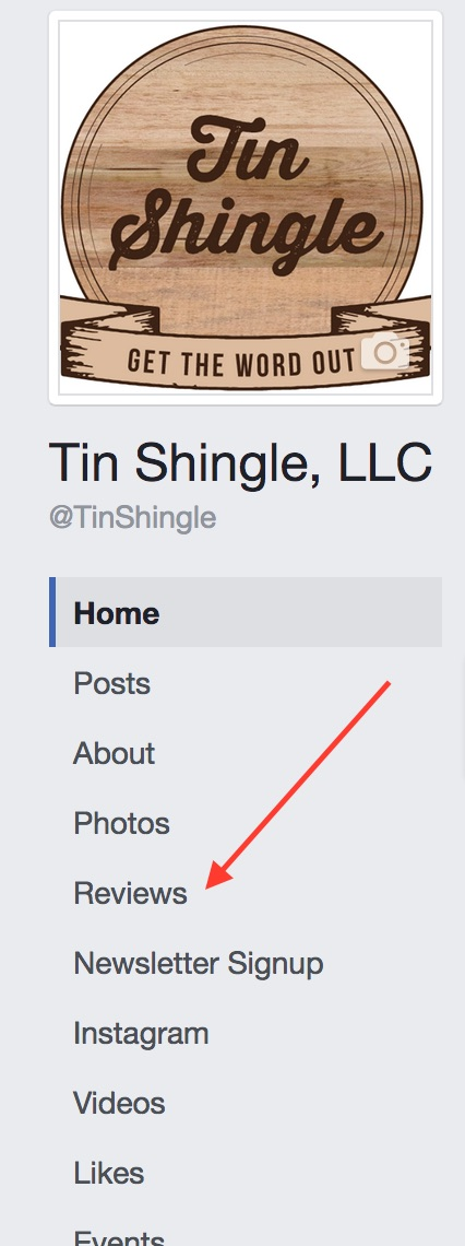 Where To Find The Reviews Tab On Your Facebook Business Page