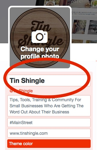 Should I Include My Personal Name In My Business Twitter Account Name?