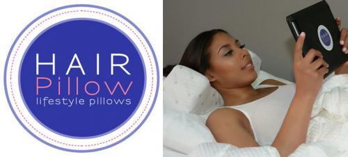 Hair pillow logo