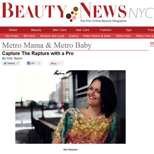 Kim Washam featured in Beauty News NYC