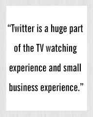 Twitter is a huge part of the TV watching experience - Peggy Li