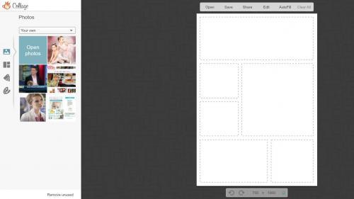 PicMonkey Layout Screen