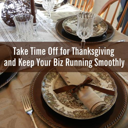 Take Time Off For Thanksgiving